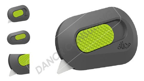 Ceramic Blade Mini Cutter-Auto-Retractable